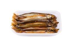 Gerookte vissen Stock Foto's