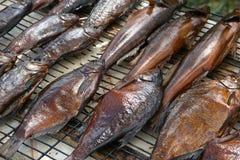 Gerookte vissen Stock Foto