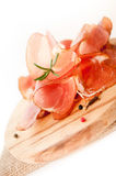 Gerookte vleesplakken Royalty-vrije Stock Foto