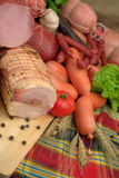 Gerookte vleeswaren Royalty-vrije Stock Afbeeldingen