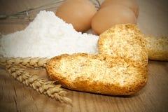 Geroosterd artisanaal brood stock afbeeldingen
