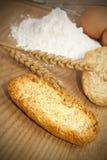 Geroosterd artisanaal brood royalty-vrije stock foto