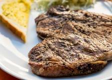Geroosterd bbq lapje vlees Royalty-vrije Stock Fotografie