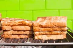 Geroosterd brood Stock Fotografie