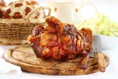 Geroosterd gewricht van varkensvlees Royalty-vrije Stock Afbeelding
