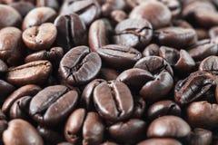 Geroosterd koffiezaad voor verse koffie Stock Afbeeldingen