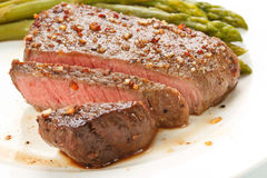 Geroosterd lapje vlees Stock Foto