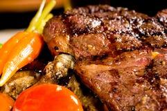Geroosterd ribeye lapje vlees royalty-vrije stock afbeeldingen