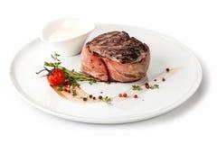 Geroosterd rundvleeslapje vlees royalty-vrije stock afbeeldingen