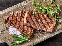 Geroosterd rundvleeslapje vlees royalty-vrije stock afbeelding