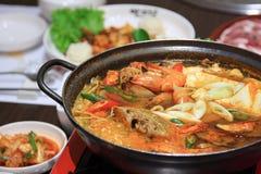 Geroosterd Varkensvlees Korea. royalty-vrije stock foto's