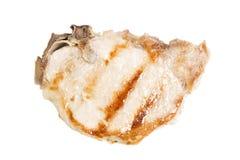 Geroosterd varkensvleeslapje vlees stock foto's