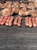 Geroosterd varkensvleesvlees Stock Afbeelding