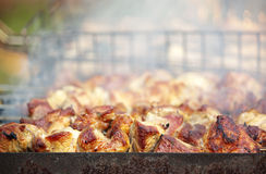 Geroosterd vlees Stock Foto's