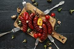 Geroosterd voedsel royalty-vrije stock afbeeldingen