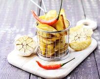 Geroosterde aardappel Royalty-vrije Stock Foto