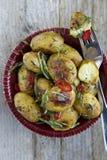 Geroosterde Aardappels royalty-vrije stock afbeelding