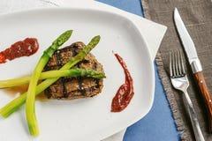 Geroosterde biefstuk Stock Fotografie