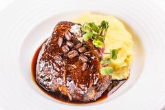 Geroosterde biefstuk Stock Afbeeldingen
