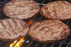 Geroosterde Burgers royalty-vrije stock afbeelding