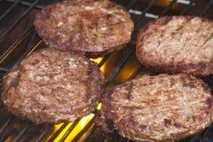 Geroosterde Burgers royalty-vrije stock fotografie