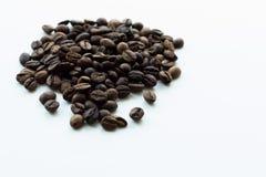 Geroosterde de bonen van de koffie royalty-vrije stock fotografie
