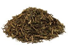 Geroosterde groene thee Royalty-vrije Stock Afbeelding