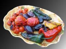Geroosterde groente Royalty-vrije Stock Foto's