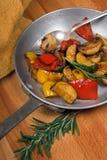 Geroosterde groenten stock fotografie