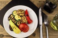 Geroosterde groenten Royalty-vrije Stock Foto's