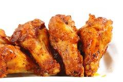 Geroosterde kippenvleugels Stock Afbeelding