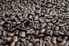 Geroosterde koffie Royalty-vrije Stock Afbeeldingen