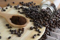 Geroosterde koffie Royalty-vrije Stock Fotografie