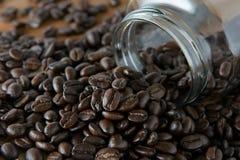 Geroosterde koffie Stock Afbeeldingen