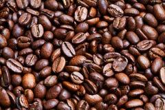 Geroosterde koffie-bonen Stock Afbeelding