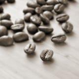Geroosterde koffiebonen Royalty-vrije Stock Afbeelding
