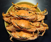Geroosterde krabben Stock Foto's