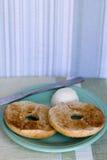 Geroosterde ongezuurde broodjes royalty-vrije stock afbeeldingen