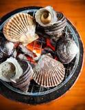 Geroosterde Overzeese Shells, Ehime, Hiroshima, Japan royalty-vrije stock foto's