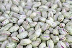 Geroosterde pistachepitten in shell royalty-vrije stock fotografie