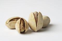 Geroosterde pistaches stock afbeelding