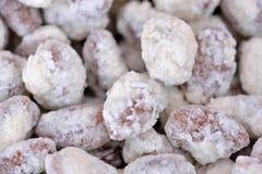Geroosterde pitten van noten stock afbeelding