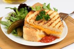 Geroosterde Sandwich Stock Foto's