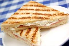 Geroosterde sandwich Stock Afbeeldingen
