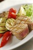 Geroosterde tonijn Stock Fotografie