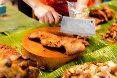 Geroosterde varkensvleesbuik Stock Afbeelding