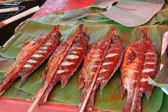 Geroosterde vissen Stock Afbeelding