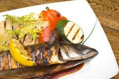 Geroosterde Vissen Stock Fotografie