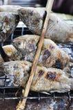 Geroosterde Vissen royalty-vrije stock afbeeldingen