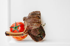 Geroosterde vleesribben Royalty-vrije Stock Foto's